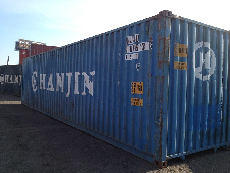 Rent 40ft HC Storage Containers I Fast Delivery - CMG ...